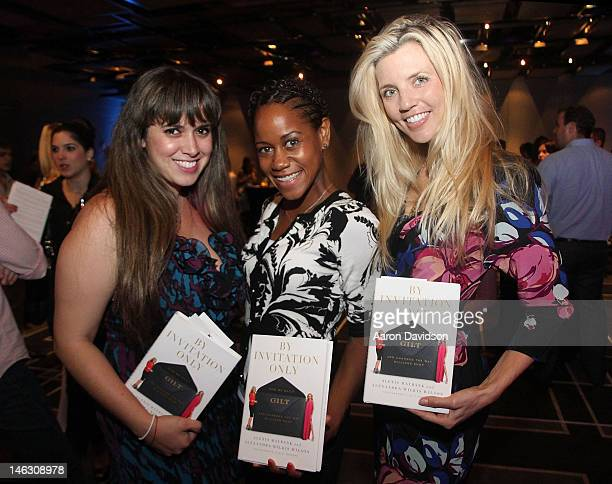 Jessica Londono April Patterson and Dana Rhodes attend the launch of By Invitation Only with Alexis Maybank and Alexandra Wilkis hosted by W South...