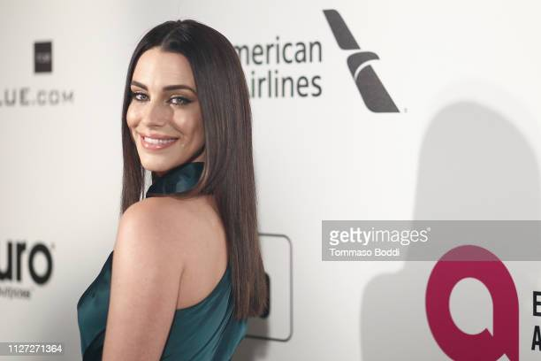 Jessica Lowndes attends IMDb LIVE At The Elton John AIDS Foundation Academy Awards® Viewing Party on February 24 2019 in Los Angeles California