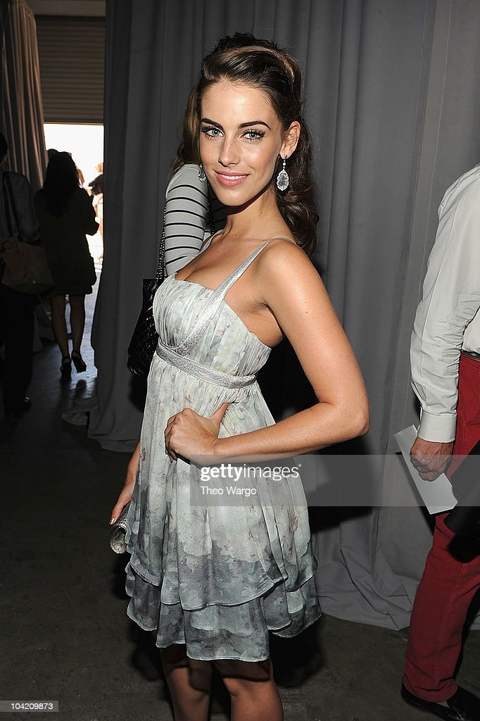 Jessica Lowndes attends Marchesa S/S 2011 Presentation at Chelsea Art Museum on September 15, 2010 in New York City.
