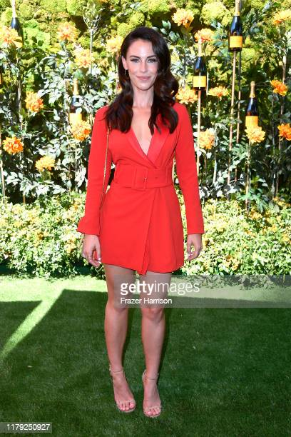 Jessica Lowndes attends the 10th Annual Veuve Clicquot Polo Classic Los Angeles at Will Rogers State Historic Park on October 05, 2019 in Pacific...