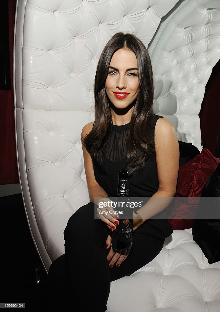 Jessica Lowndes attends the Beck's Sapphire Launch Event on January 17, 2013 in Beverly Hills, California.