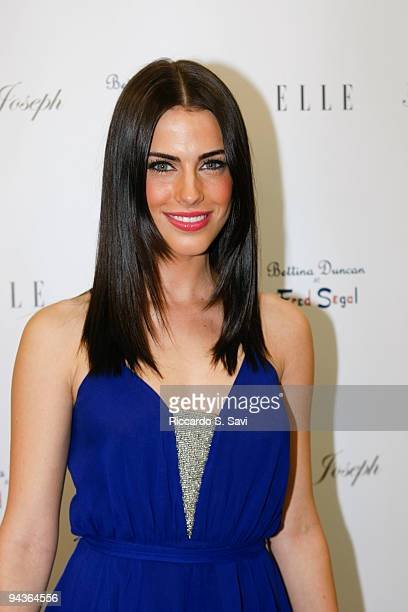 Jessica Lowndes attends the Bettina Duncan Boutique launch for Joseph's holiday collection on December 12 2009 in Santa Monica California