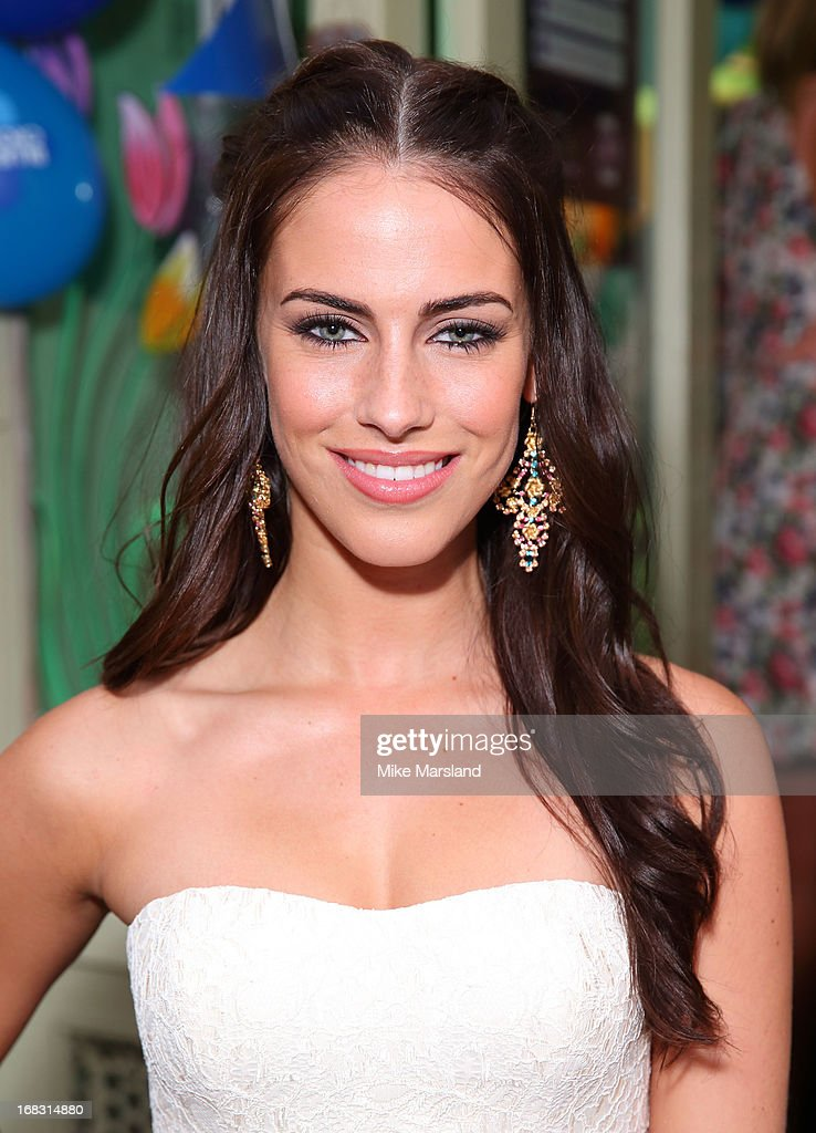 Jessica Lowndes attends the Blue Cross tea party on May 8, 2013 in London, England.