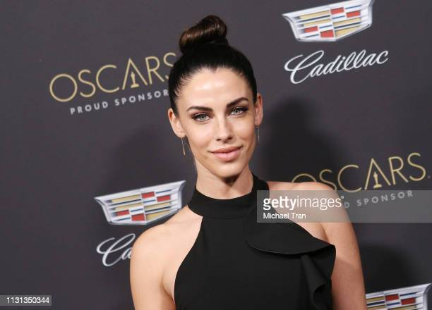 Jessica Lowndes attends the Cadillac celebrates the 91st Annual Academy Awards held at Chateau Marmont on February 21 2019 in Los Angeles California