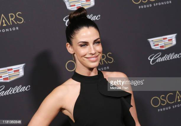 Jessica Lowndes attends the Cadillac celebrates the 91st Annual Academy Awards held at Chateau Marmont on February 21, 2019 in Los Angeles,...