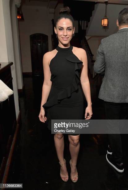 Jessica Lowndes attends the Cadillac Oscar Week Celebration at Chateau Marmont on February 21 2019 in Los Angeles California