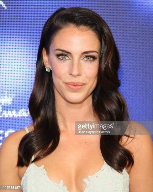 Jessica Lowndes attends the Hallmark Channel and Hallmark Movies Mysteries Summer 2019 TCA Press Tour Event held at a private residence on July 26...