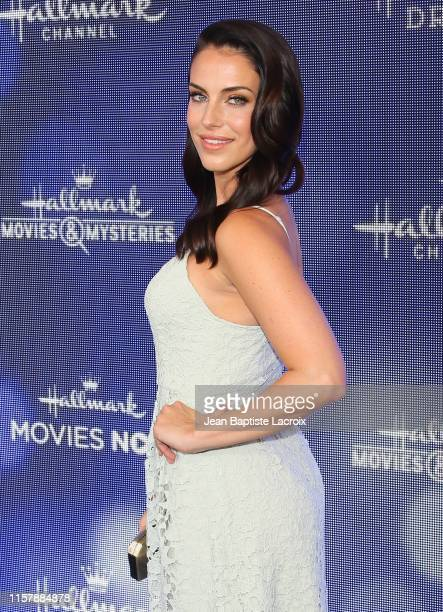 Jessica Lowndes attends the Hallmark Channel and Hallmark Movies & Mysteries Summer 2019 TCA Press Tour Event held at a private residence on July 26,...