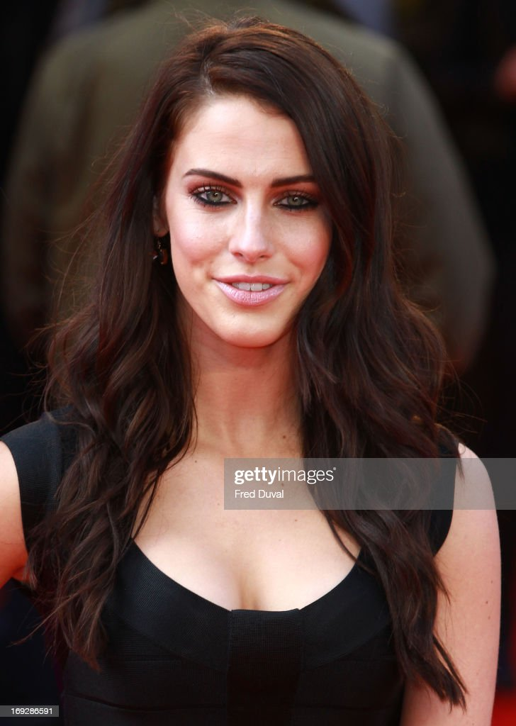 Jessica Lowndes attends 'The Hangover III' - UK film premiere at The Empire Cinema on May 22, 2013 in London, England.