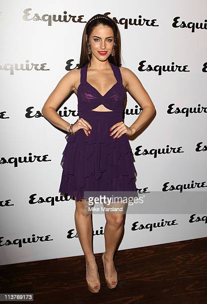 Jessica Lowndes attends the launch of Esquire's June issue at Sketch on May 5 2011 in London England