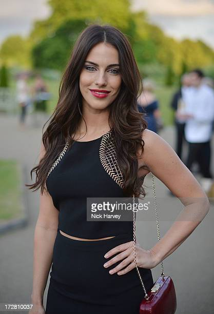 Jessica Lowndes attends the launch party for the Fashion Rules exhibition a collection of dresses worn by HRH Queen Elizabeth II Princess Margaret...