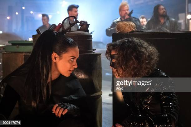 Jessica Lucas and Camren Bicondova in the A Dark Knight A Day in the Narrows episode of GOTHAM airing Thursday Nov 2 on FOX