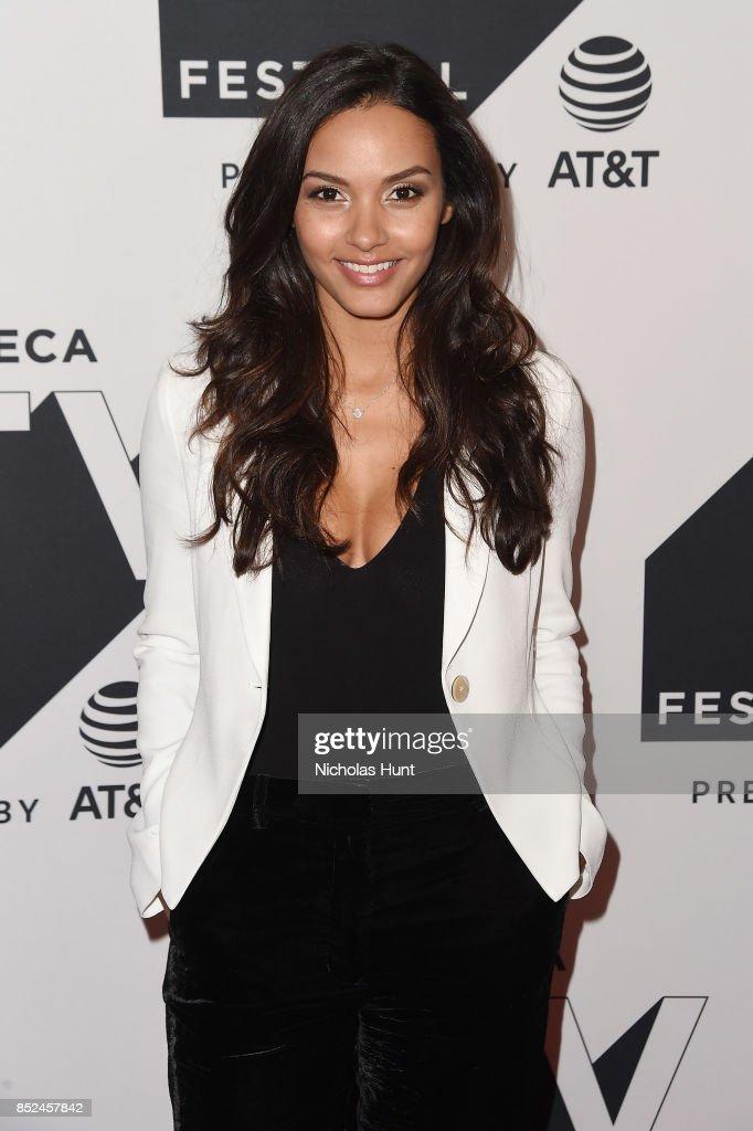 Jessica Lucas attends the Tribeca TV Festival sneak peek of Gotham at Cinepolis Chelsea on September 23, 2017 in New York City.