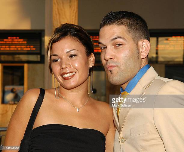 Jessica Lugo and Guillermo Diaz during Screening of Wasabi Tuna at Arclight Cineramadome in Hollywood California United States