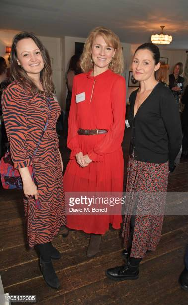 Jessica Malik Jessica Swale and Lorena Wright attend a drinks reception at Soho House to celebrate the announcement of a brandnew childcare facility...