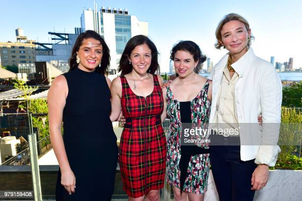 Jessica Manchester Elizabeth Broomfield Megan Green and Lily Snyder attend American Friends Of The Israel Museum Celebrate Summer 2018 at The High...