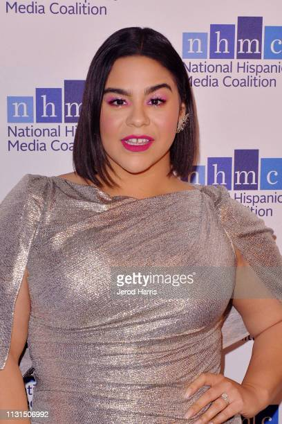 Jessica Marie Garcia arrives at the National Hispanic Media Coalition's 22nd Annual Impact Awards Gala at the Beverly Wilshire Four Seasons Hotel on...