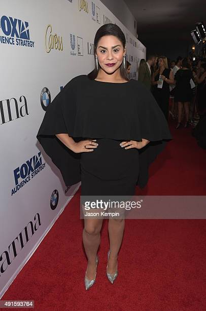 Jessica Marie Garcia attends the Latina Hot List Party hosted by Latina Media Ventures at The London West Hollywood on October 6 2015 in West...