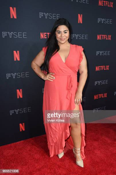 Jessica Marie Garcia attends the Netflix FYSee Kick Off Party at Raleigh Studios on May 6 2018 in Los Angeles California