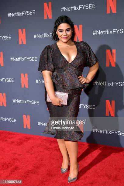 Jessica Marie Garcia attends the Netflix FYSEE 'Prom Night' Reception at Raleigh Studios on May 17 2019 in Los Angeles California