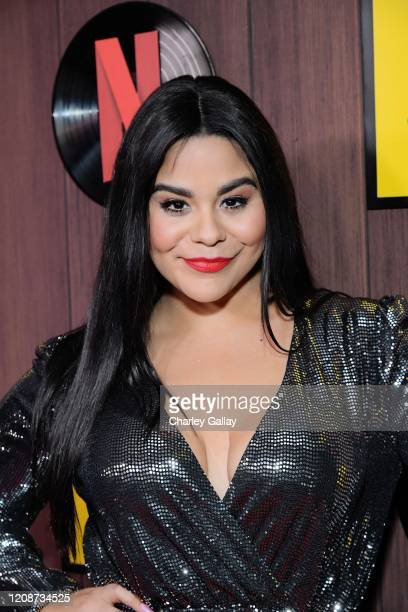 Jessica Marie Garcia attends the premiere of Netflix's I Am Not Okay With This at The London West Hollywood on February 25 2020 in West Hollywood...