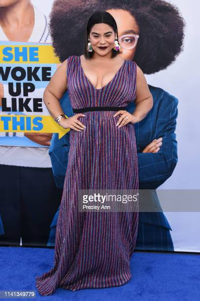Jessica Marie Garcia attends The Premiere Of Universal Pictures Little at Regency Village Theatre on April 08 2019 in Westwood California