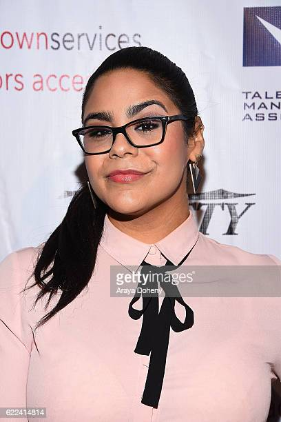 Jessica Marie Garcia attends the The TMA 2016 Heller Awards on November 10 2016 in Beverly Hills California