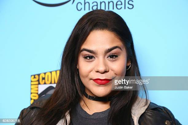 Jessica Marie Garcia attends the Winter Series Showcase of ComicCon HQ with the Premiere of Con Man Season 2 at The Paley Center for Media on...