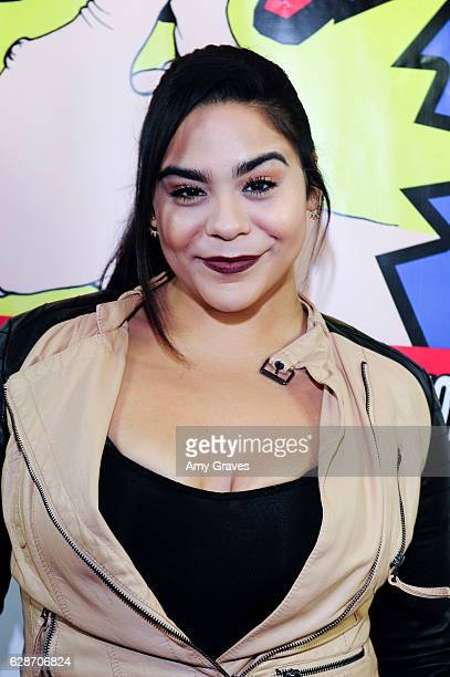 Jessica Marie Garcia attends the WTF World Thumbwrestling Federation Screening on December 8 2016 in Los Angeles California