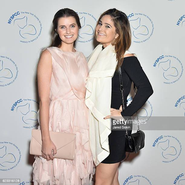 Jessica Markowski and Lea Kadish attend The New York Society for the Prevention of Cruelty to Children Food Wine Gala on November 14 2016 in New York...