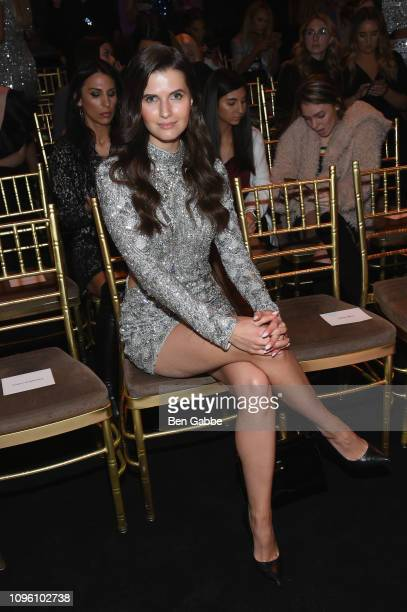 Jessica Markowski attends the Sherri Hill Show during New York Fashion Week February 2019 on February 8 2019 in New York City