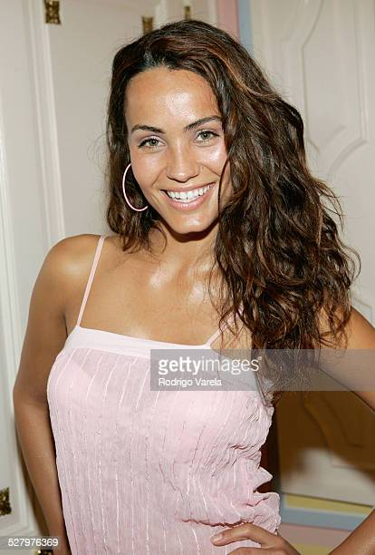 Jessica Mas during AE Mundo and The History Channel Party at Casa Casuarina in Miami Beach Florida United States