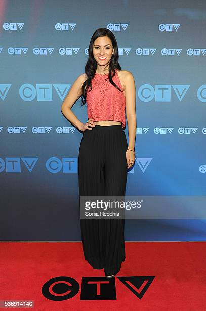 Jessica Matten attends CTV Upfronts 2016 at Sony Centre for the Performing Arts on June 8 2016 in Toronto Canada