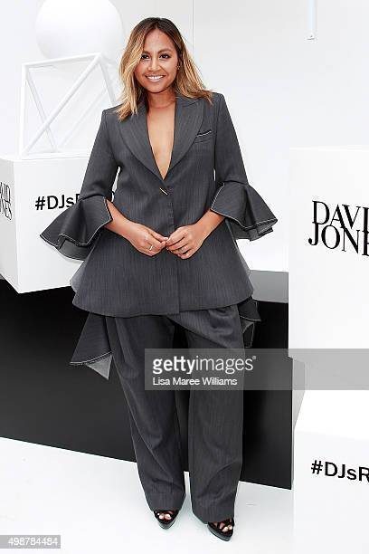 Jessica Mauboy arrives ahead of the ARIA Awards 2015 at The Star on November 26 2015 in Sydney Australia