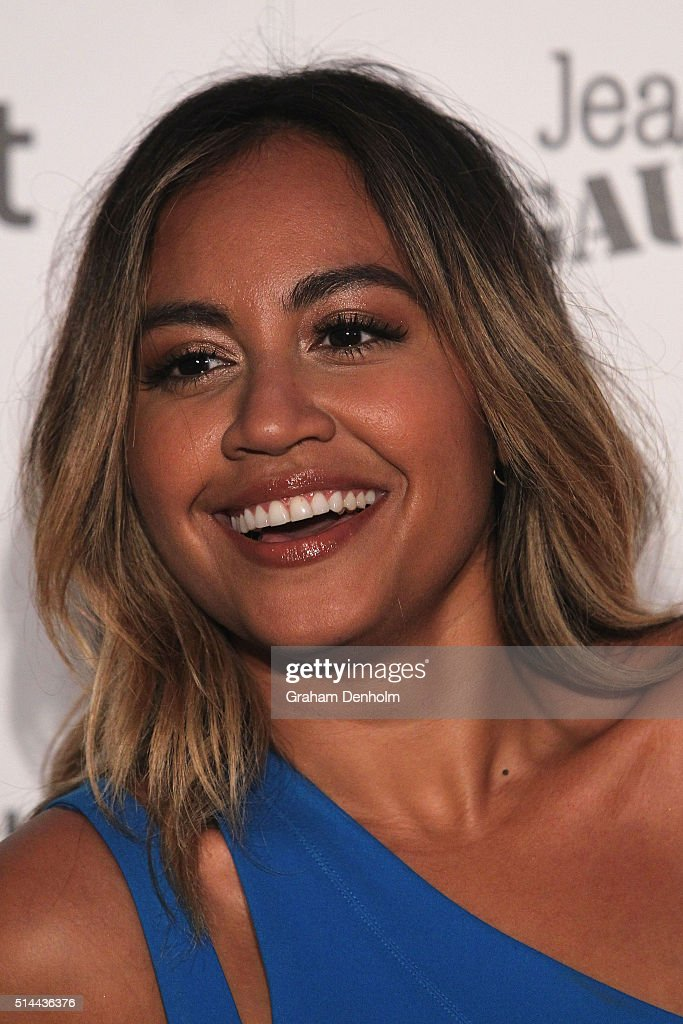 Jessica Mauboy arrives ahead of the Jean Paul Gaultier x Target Launch during Melbourne Fashion Festival on March 9, 2016 in Melbourne, Australia.