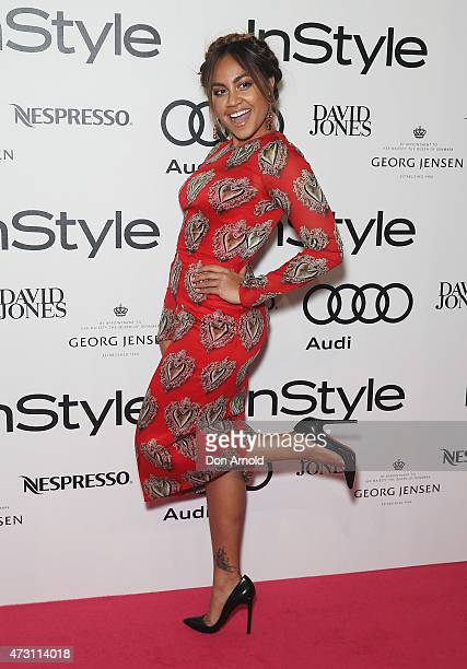 Jessica Mauboy arrives at the 2015 Women Of Style Awards at Carriageworks on May 13, 2015 in Sydney, Australia.