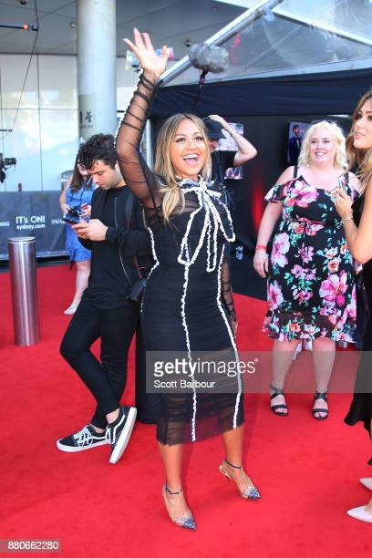 Jessica Mauboy arrives for the 31st Annual ARIA Awards 2017 at The Star on November 28 2017 in Sydney Australia