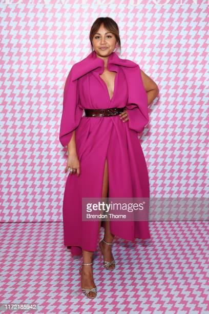 Jessica Mauboy attends the David Jones SS19 Bright Night event at David Jones Elizabeth Street Store on September 04 2019 in Sydney Australia