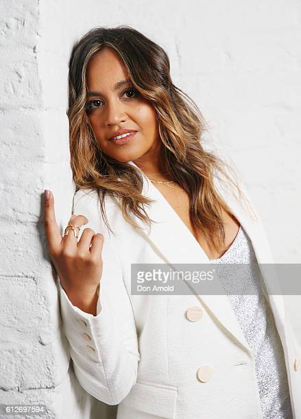 Jessica Mauboy poses at the 30th Annual ARIA Nominations Event on October 5 2016 in Sydney Australia