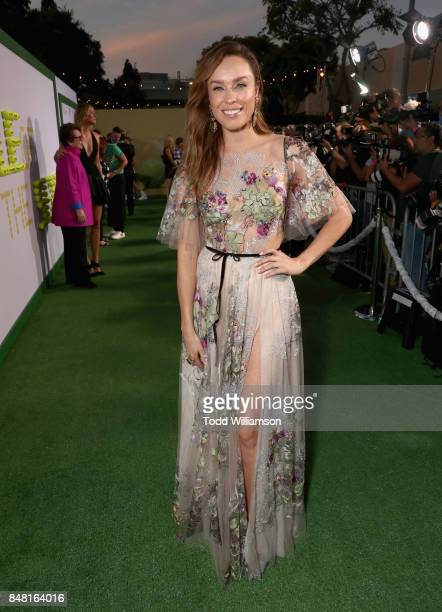 Jessica McNamee at Fox Searchlight's Battle of the Sexes Los Angeles Premiere on September 16 2017 in Westwood California