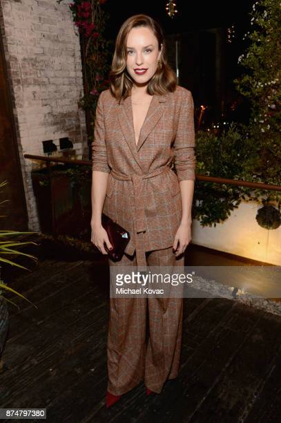 Jessica McNamee at Moet Celebrates The 75th Anniversary of The Golden Globes Award Season at Catch LA on November 15 2017 in West Hollywood California
