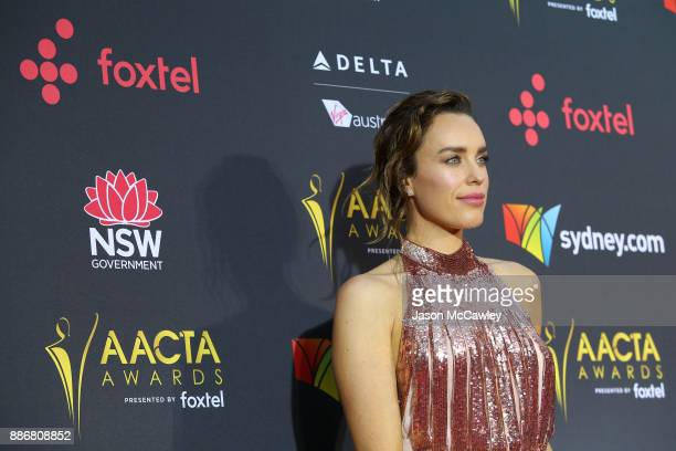 Jessica McNamee attends the 7th AACTA Awards Presented by Foxtel | Ceremony at The Star on December 6 2017 in Sydney Australia
