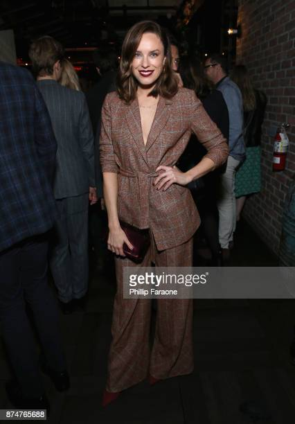 Jessica McNamee attends the HFPA's and InStyle's Celebration of the 2018 Golden Globe Awards Season and the Unveiling of the Golden Globe Ambassador...