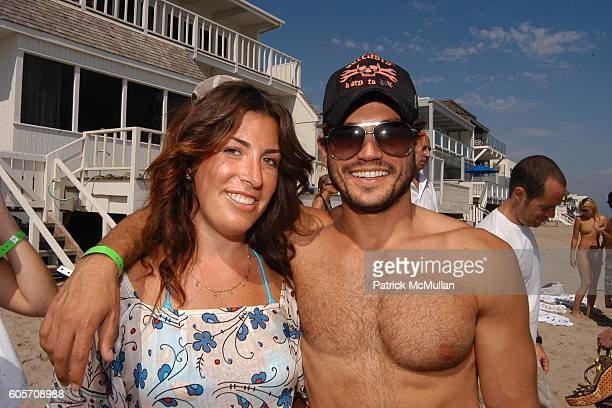 Jessica Meisels and Andrew Levitas attend Self Magazine Fun In The Sun Event Hosted by Self's August Cover Girl Molly Sims at Polariod Beach House on...
