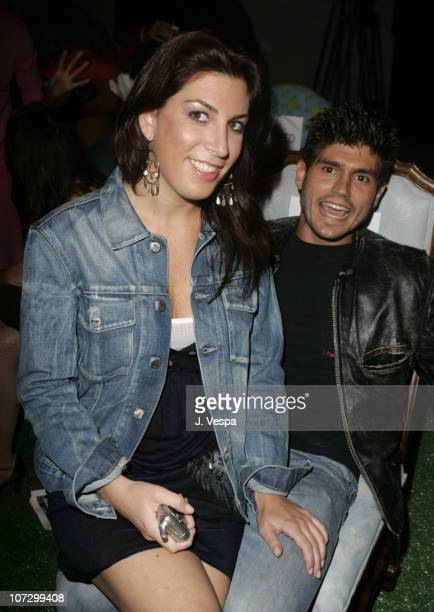 Jessica Meisels and Andrew Levitas during MercedesBenz Spring 2006 LA Fashion Week at Smashbox Studios Petro Zillia Inside at Century Studios in...