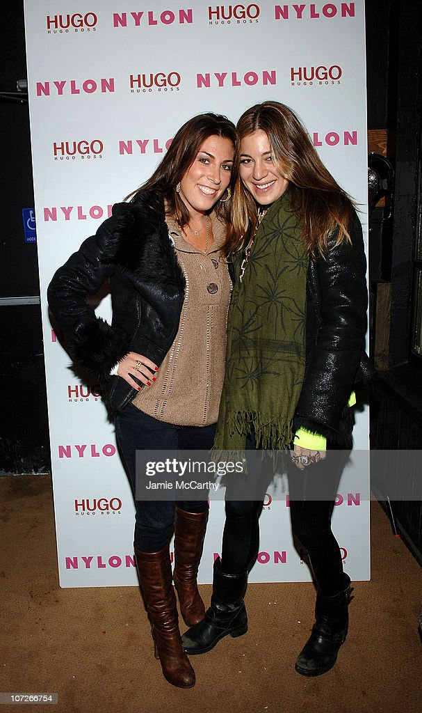 Jessica Meisels and Designer Dani Stahl attends the Nylon Magazine and Hugo Boss Party for 'The Horrors' at Boost Mobile Lounge at Marquee on January 18, 2008 in Park City, Utah.