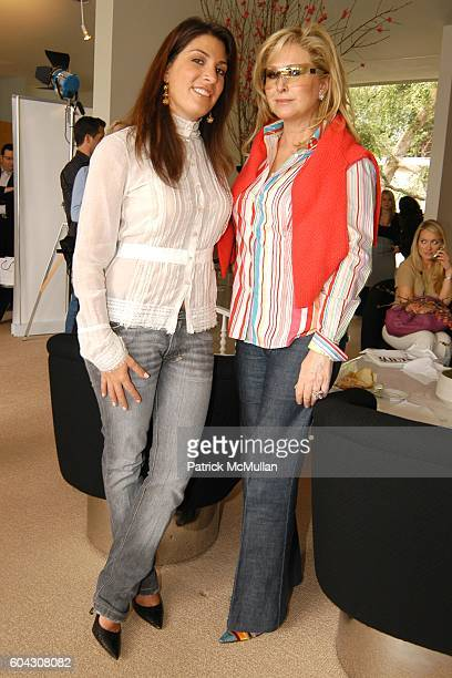 Jessica Meisels and Kathy Hilton attend W Magazine Hollywood Retreat hosts a Pre Oscar Luncheon for Arianne Phillips at Private Residence on March 3...