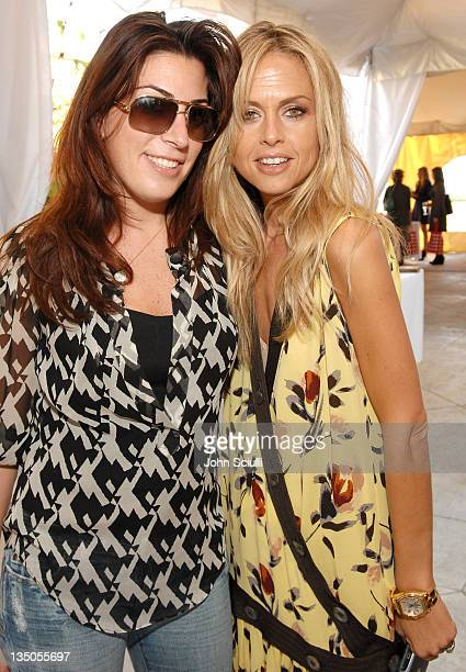 Jessica Meisels and Rachel Zoe during Tracy Paul and Company and Rachel Zoe Host a Showcase of Top Products for LA Fashion Week at Raffles L'Ermitage...