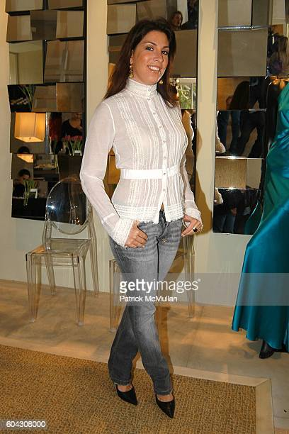 Jessica Meisels attends W Magazine Hollywood Retreat hosts a Pre Oscar Luncheon for Arianne Phillips at Private Residence on March 3 2006 in Beverly...