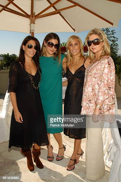 Jessica Meisels Dani Stahl Alexandra von Furstenberg and Kathy Hilton attend Elena Kiam and Dani Stahl host an intimate luncheon to preview the new...